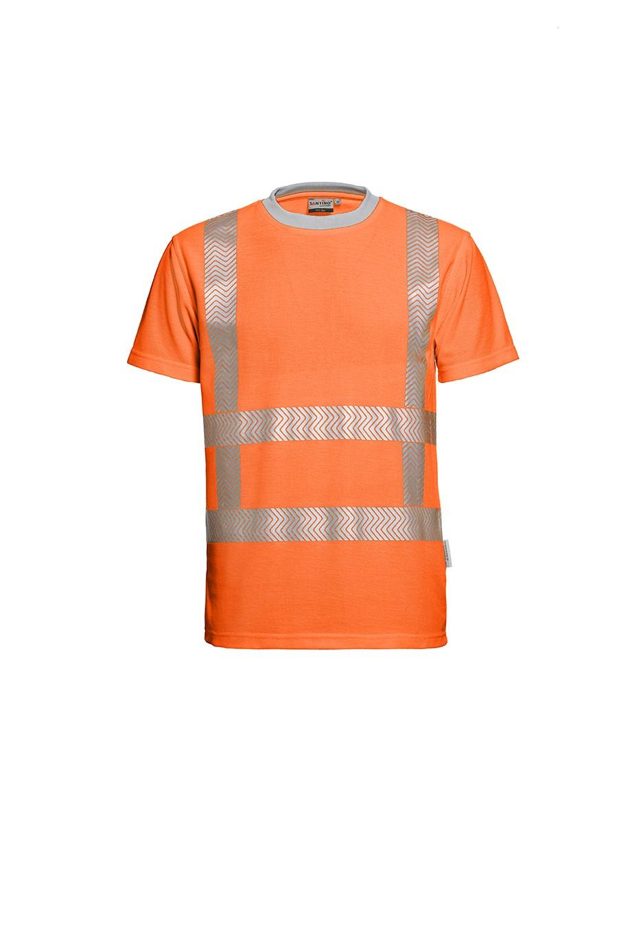 Vegas, Fluoriserend Veiligheids T-shirt, Santino