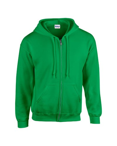 Heavy Blend Adult Full Zip Hooded Sweatshirt 18600, Gildan
