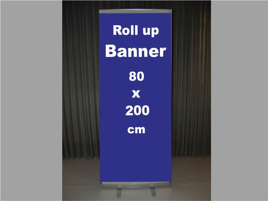 DeLuxe Roll-Up Display & Spandoek RS1