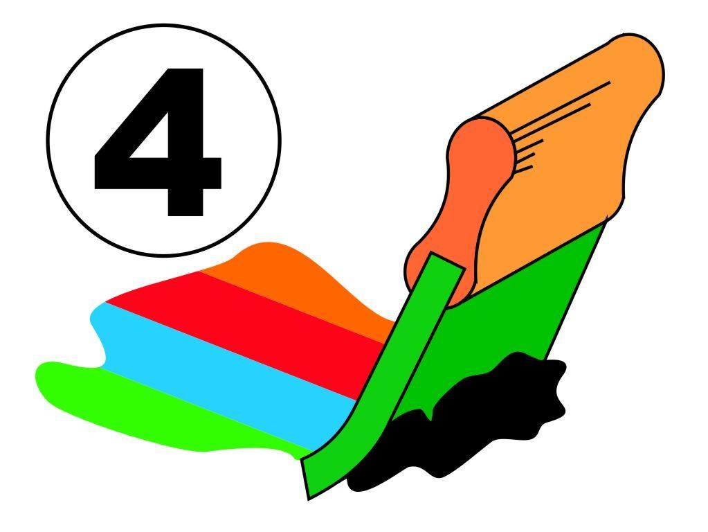 Zeefdruk, plastisol, 4 kleuren of fullcolor, op Sweaters, Polo's, Overhemden