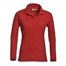 Poloshirt Matt, Long Sleeve, Ladies Santino