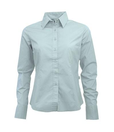Poplin shirt LS for her 3985, Lemon & Soda