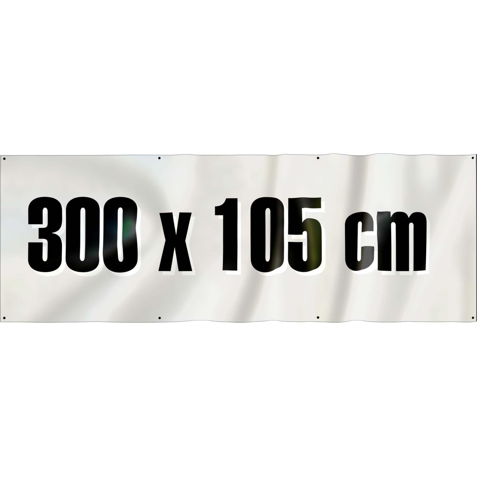 Spandoek 300 x 105 cm ( frontlit bisonyl )